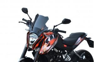 Szyba motocyklowa KTM 390 Duke Turystyk