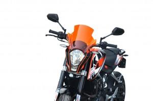 Szyba motocyklowa KTM 125 Duke Turystyk II