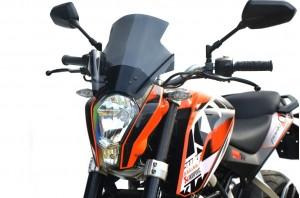 Szyba motocyklowa KTM 390 Duke Turystyk II