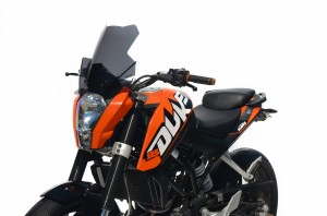 Szyba motocyklowa KTM 125 Duke Turystyk