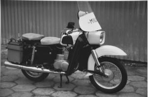 Szyba motocyklowa do MZ 250 TS 2