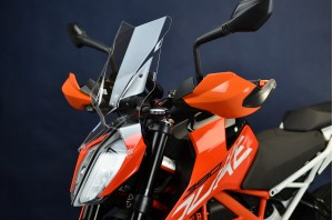 Szyba motocyklowa KTM 125 Duke