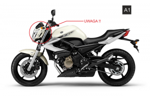 Szyba motocyklowa YAMAHA XJ 6N