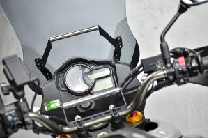 Belka - uchwyt  mocowania nawigacji Suzuki DL V-Strom 1000 2014-2019