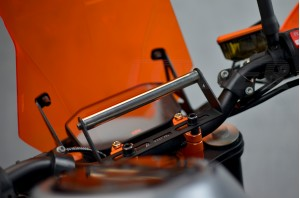 Belka - uchwyt mocowania nawigacji uniwersalna KTM