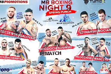 Nasi zawodnicy na GALI BOKSU MB BOXING NIGHT #9